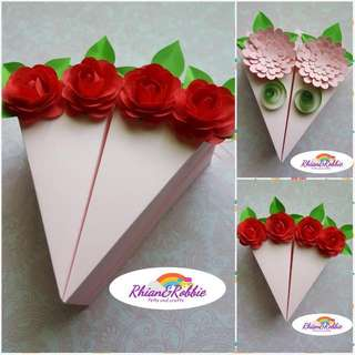 Slice Of Cake Gift Box