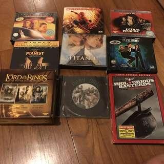Movie DVDs/ VCDs