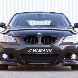 保證正廠HAMANN BMW E60.E61 5系列前保桿加霧燈