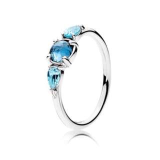 Authentic Pandora Ring Patterns Of Frost