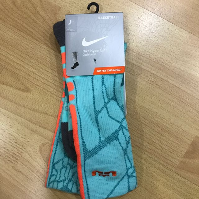 1 Nike Hyper Elite Cushioned Socks (Lebron)