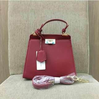 ORIGINAL Charles & Keith Small Red