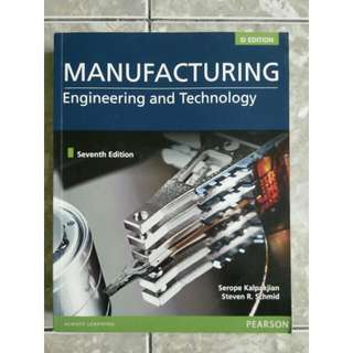 Manufacturing Engineering and Technology