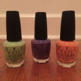 OPI Summer Pastels Bundle
