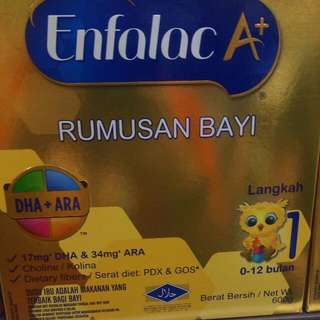 Enfalac A+ (0-6mths) 800g $50 For 2 Boxes