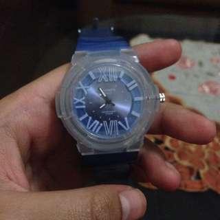 Jam Tangan Merk Favorite Warna Biru