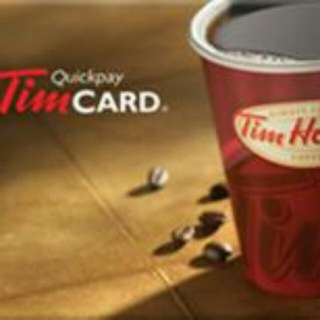 100$ tim gift card for 45