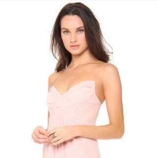Zimmermann BNWT Silk Twist Strapless Dress - Size 0