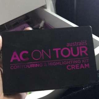 Australis Ac On Tour Cream Contour Kit