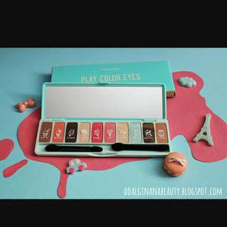(Buy1get1 380php) Etude House Play Color Eyes Palette READ DESCRIPTION