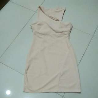 Dress Bodycon On Shoulder