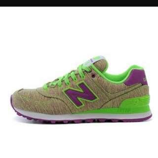 NB 574慢跑鞋24碼