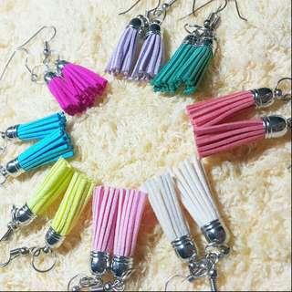 BUY1TAKE1 Pastel tassel earrings