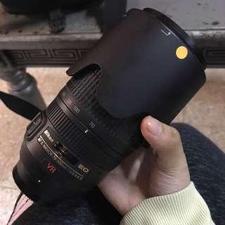 Lensa Nikon AF-S 70-300mm F/4.5-5.6G IF-ED VR + filter green.l
