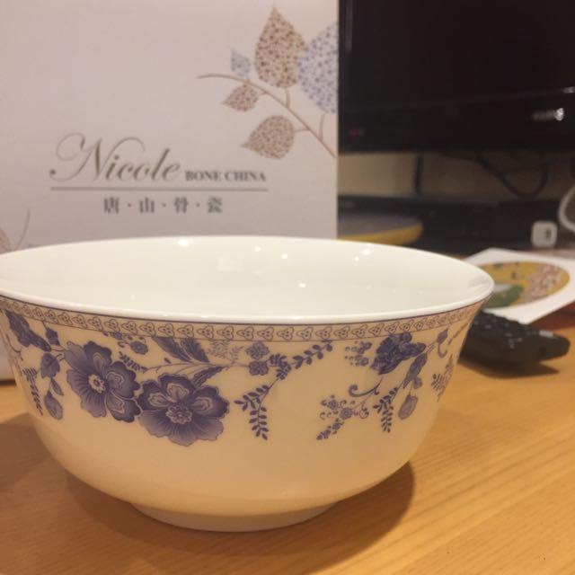 唐山骨瓷碗2入