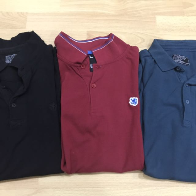 3 L Cotton On polo Shirt. (3 For 600)