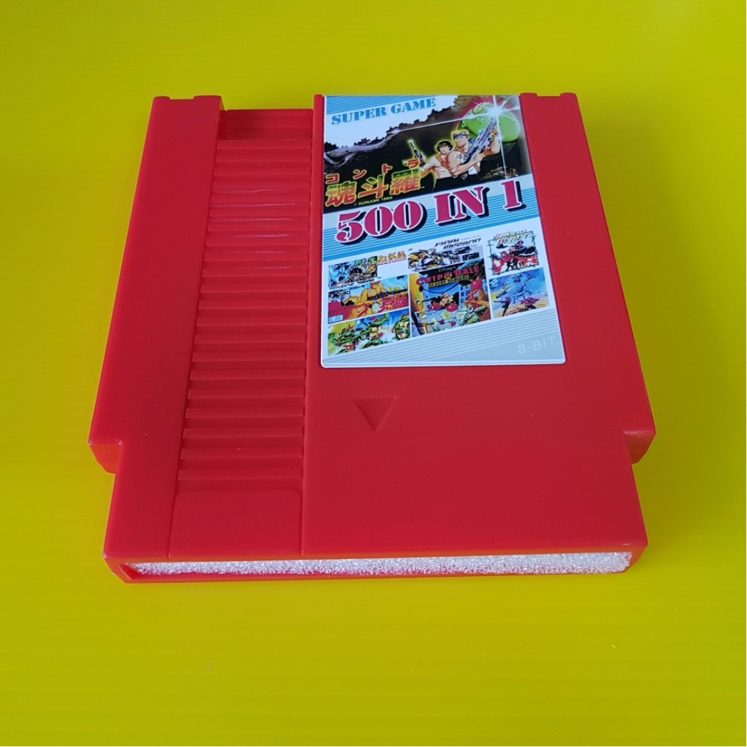 500 in 1 Multi Card Game 8 bit Super Game for Nintendo NES