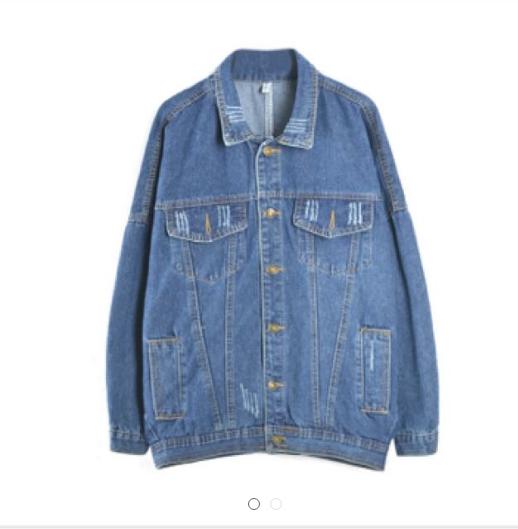 韓版牛仔外套#三百元外套