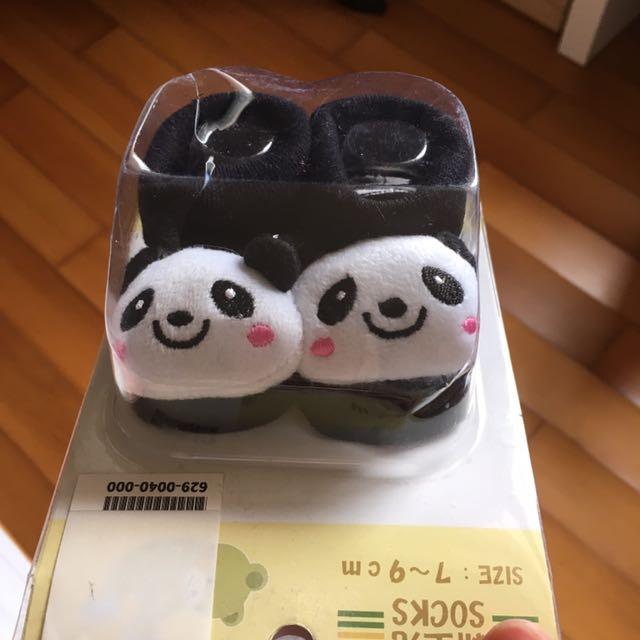 可愛熊貓襪🐼