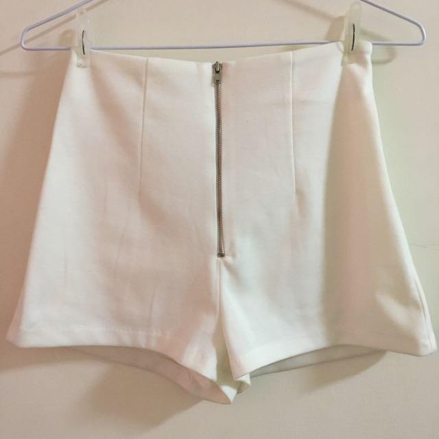 正韓白色褲子