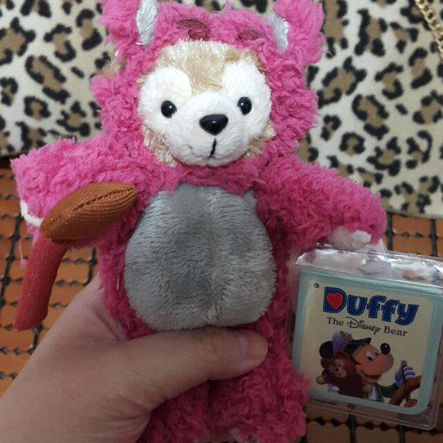 香港迪士尼 熊抱達菲 現貨