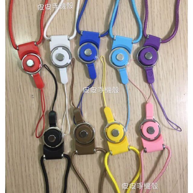 可拆式掛繩 鈕扣掛繩 指環 吊繩 掛脖子 可選色 扣環