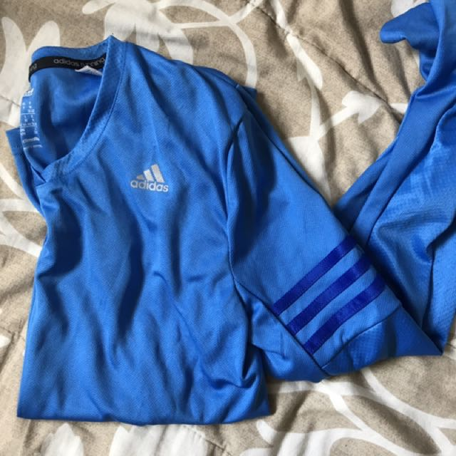 Adidas Log Sleeve Top