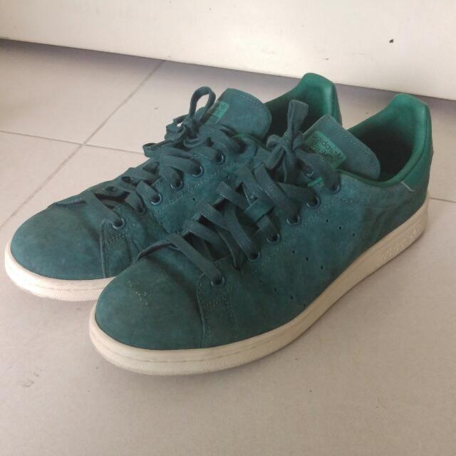 Adidas Stan Smith Velvet Green, Men's