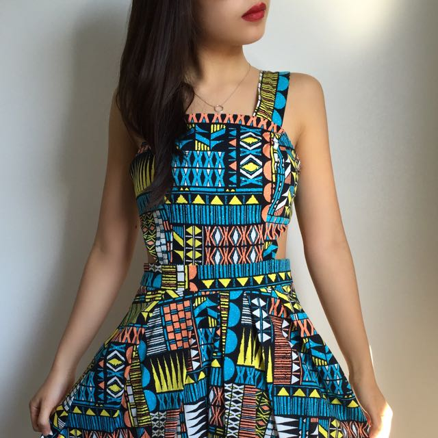 Atmosphere Printed Dress
