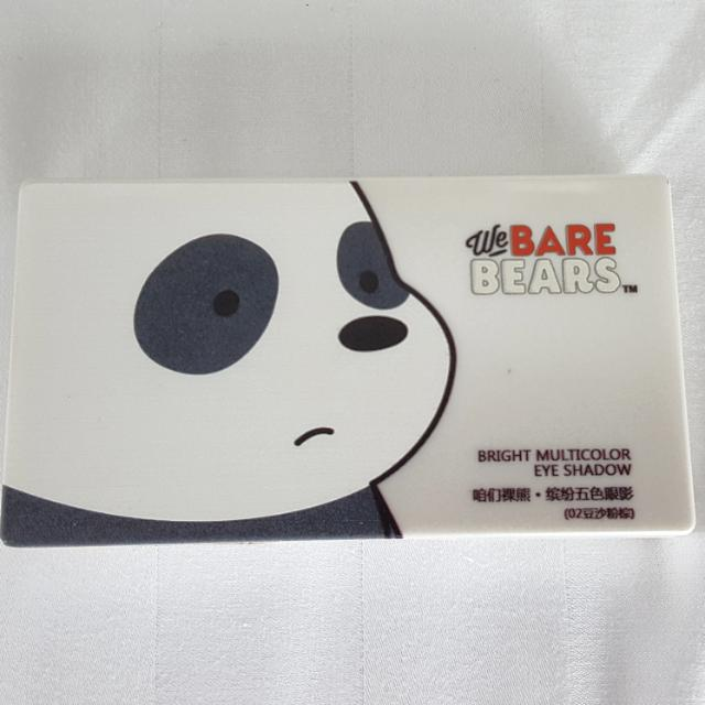 Authentic We Bare Bear Make Up Palette
