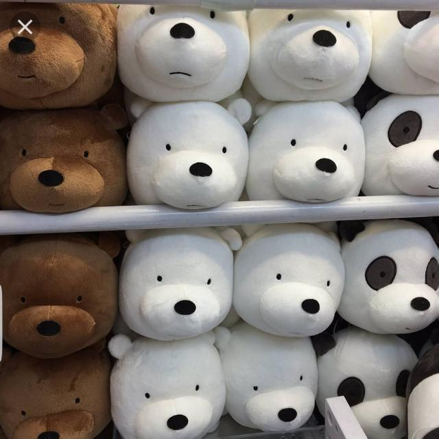 Authentic We Bare Bear Plush Toys