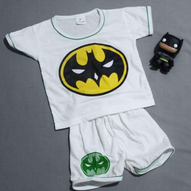 Baju Babies Motif Superhero