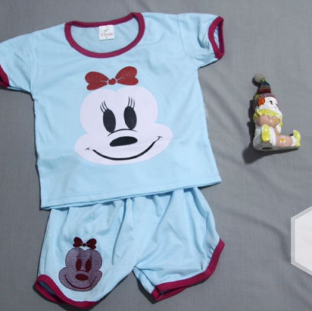 Baju Baby Girl Motif minnie