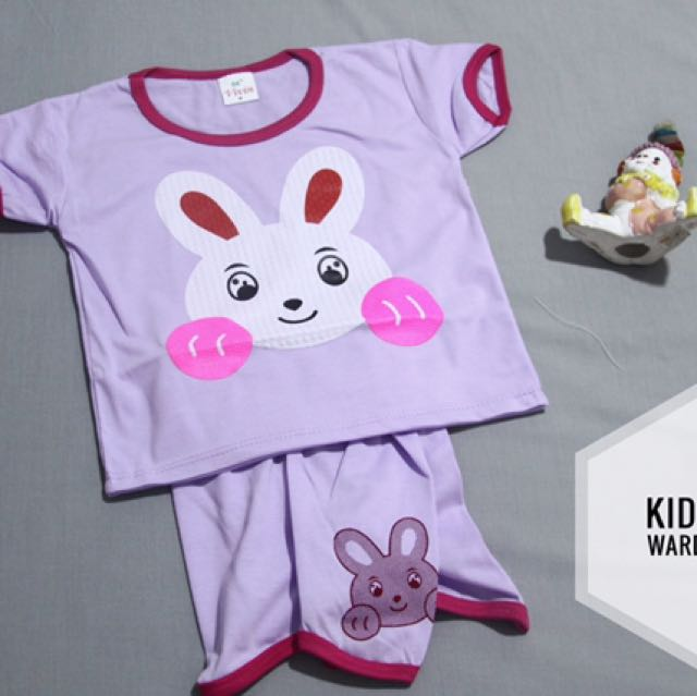 Baju Rabbits Baby Girl