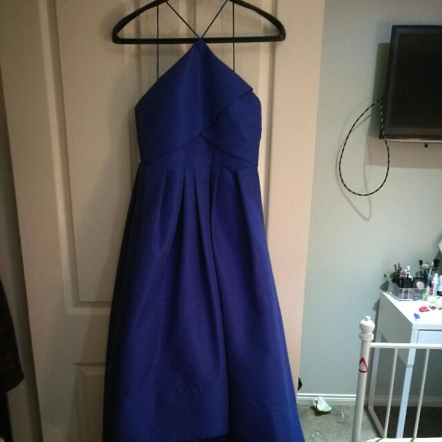 Bariano Blue Formal Dress