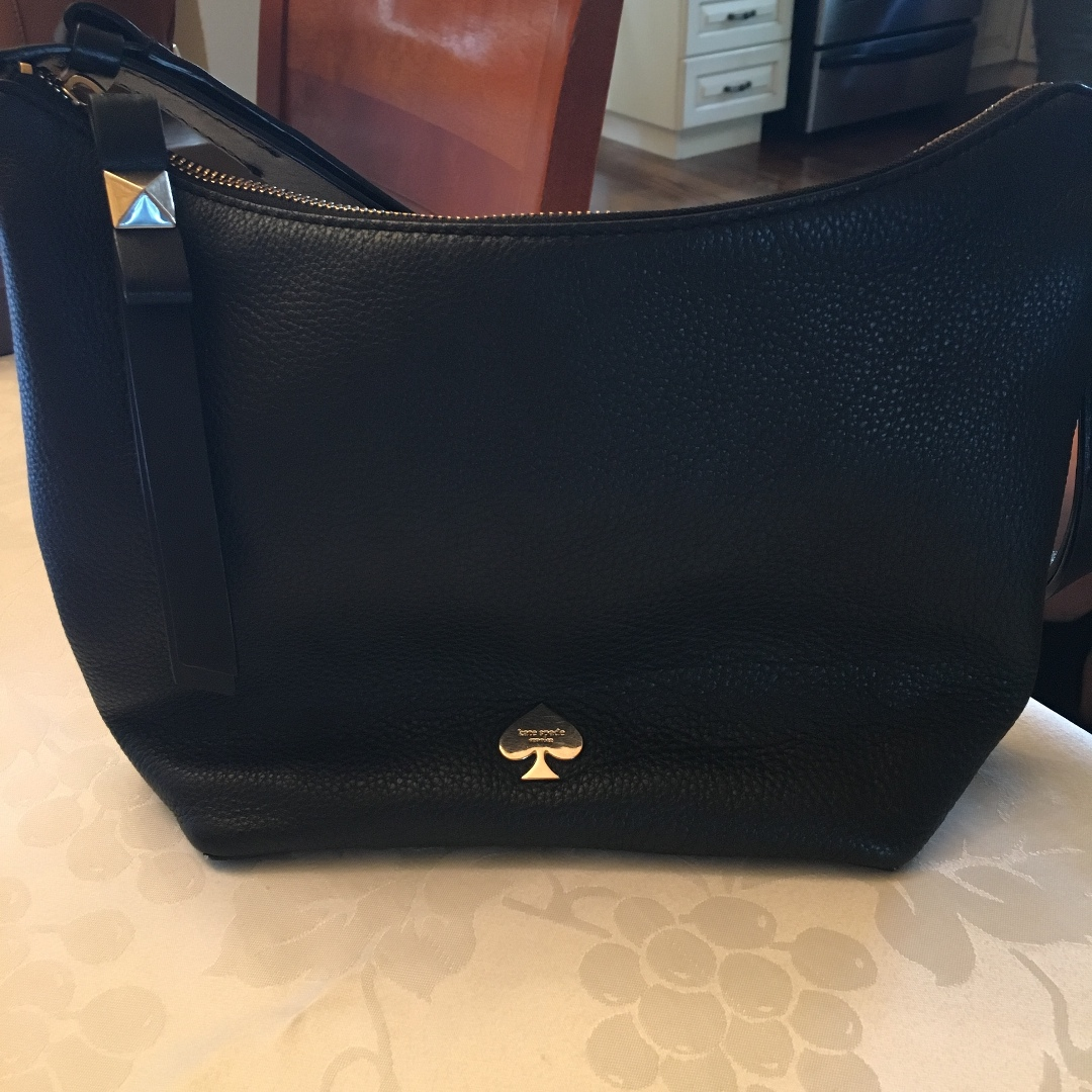 Black Kate Spade Handbag