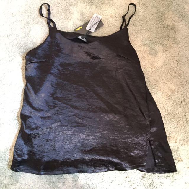 Black Slip Tank