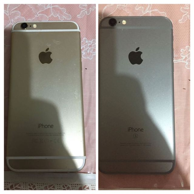 BOTH FOR 24k I phone 6s silver and I phone 6 gold