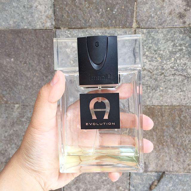 Botol Parfum Aigner Evolution Original