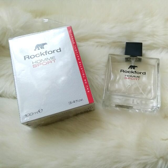 Botol Parfum Bekas / Kosong Rockford Homme Sport