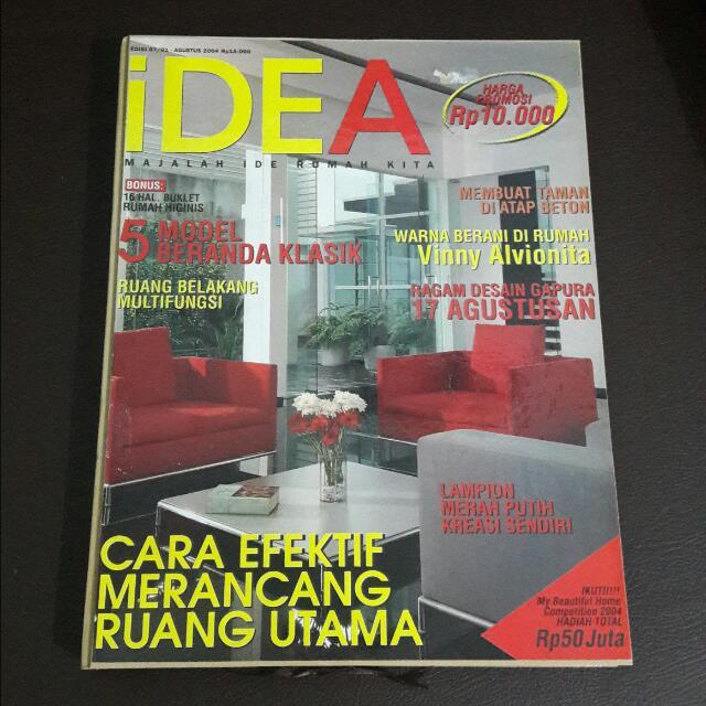Bundle Majalah Idea 6 Edisi