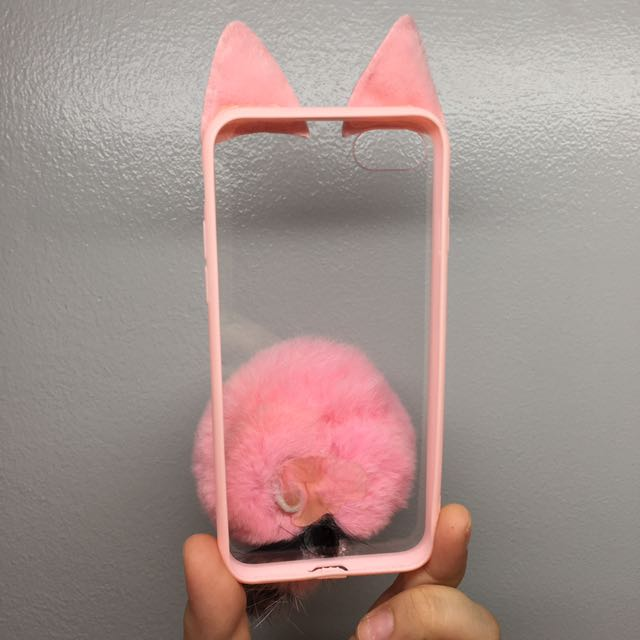 iPhone 7 Case cat ears and tail