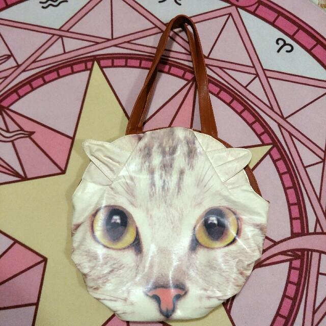 ★ Cat face handbag