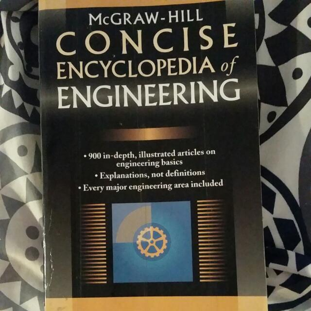 Concise Encyclopedia Of Engineering
