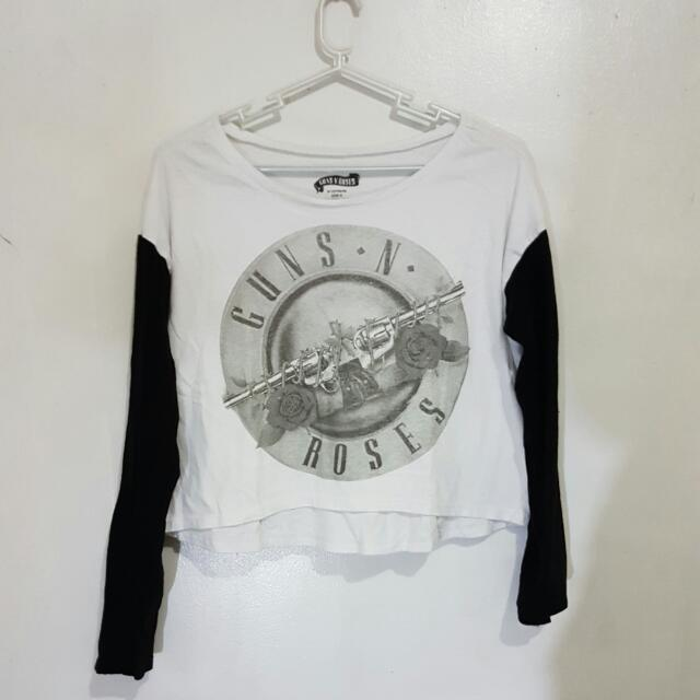 Cotton On : Guns & roses Top