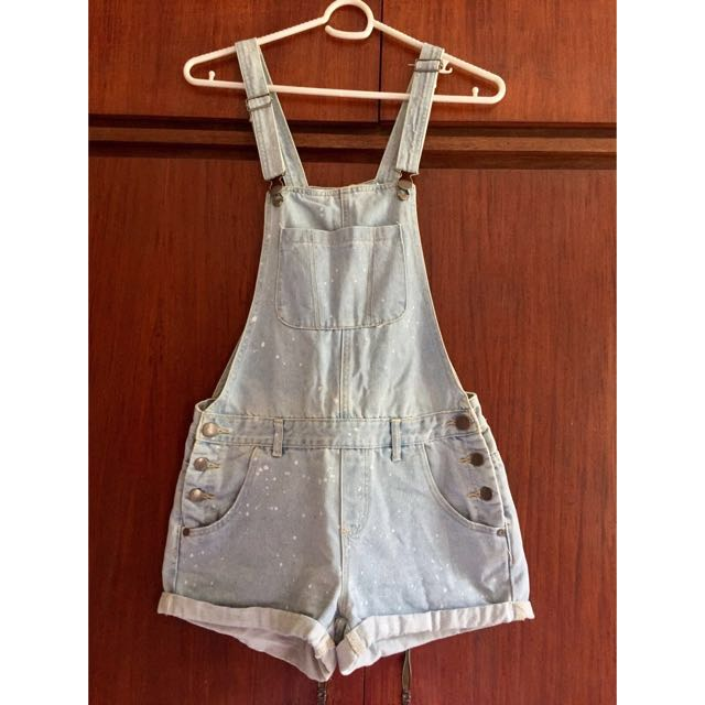 Cotton On overall shorts