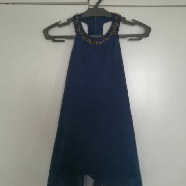 Cropped Racerback Top