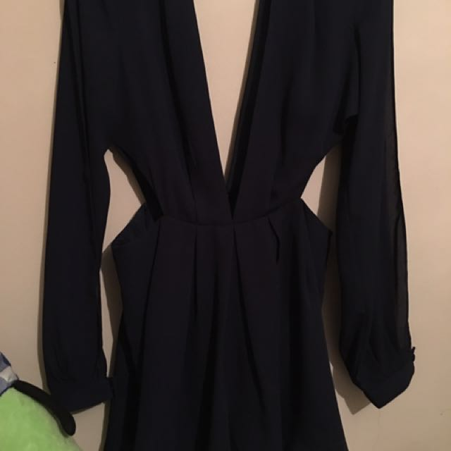 Cut Out Playsuit Worn Once, Size Small