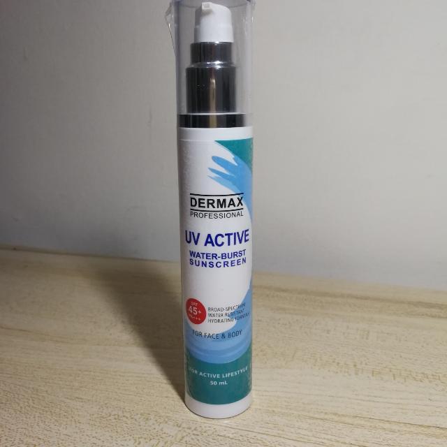 Dermax Professional Water-burst Sunscreen