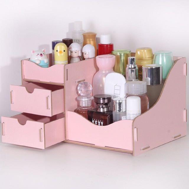 Desktop Box/ Cosmetics Organizer